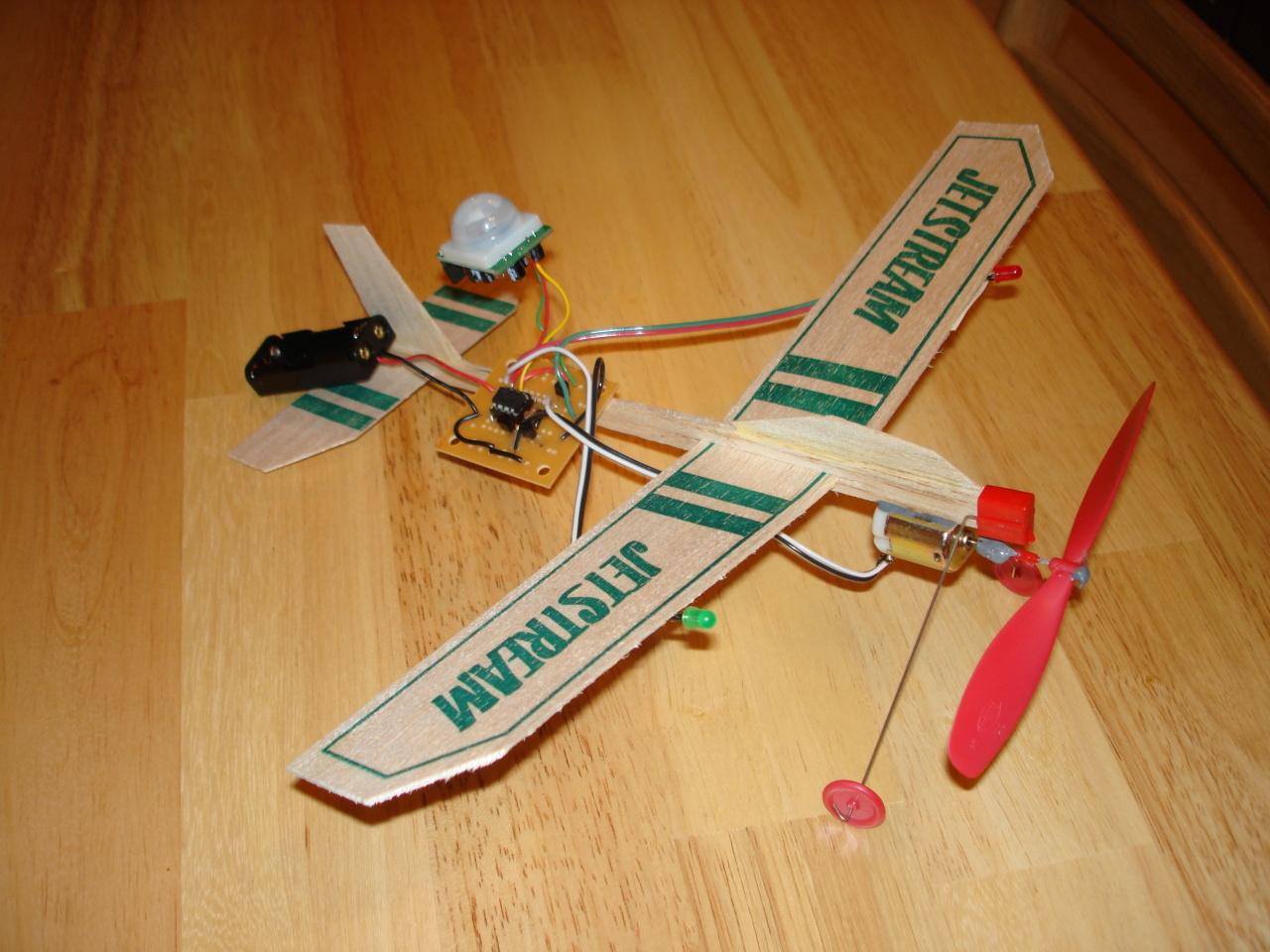 balsa wood airplane