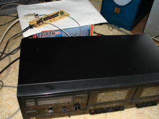 Tape data recorder circuit and tape player