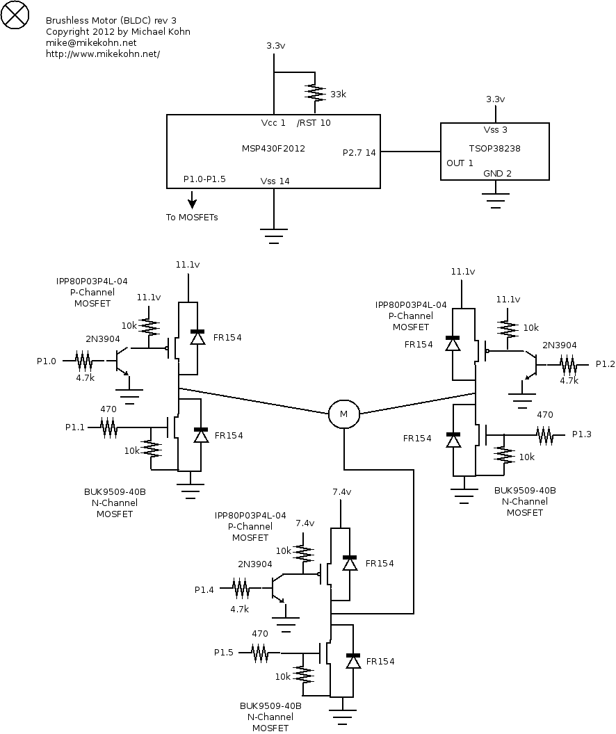 Brushless Motor Drive Circuit Diagram Wiring And Schematics Dc Control Schematic Ku63 Controller Controllers View Full