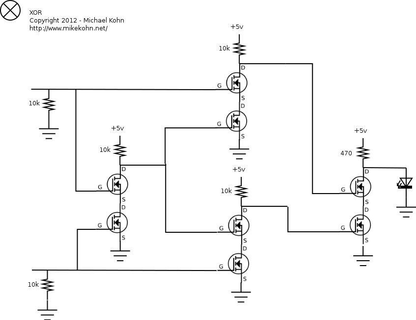 Eton 150 Wiring Diagram further EXP 5 furthermore How To Connect A Bulb And Buzzer To Be Operated By One Switch likewise Page65 also Xor Schematic With Led. on led series parallel wiring