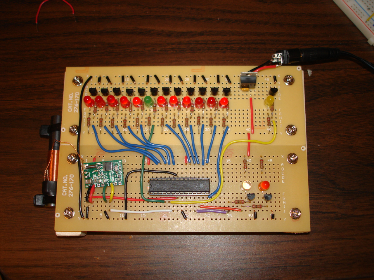 Binary Clock With Wwvb Syncing Schematic Wire Center Bufferedbreakoutbox Basiccircuit Circuit Diagram Seekiccom Michael Kohn Rh Mikekohn Net Arduino