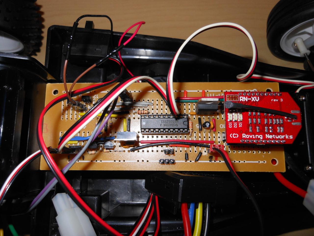 Michael Kohn Wifi Car Rc Schematic R C Circuit